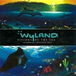 2016 WYLAND VISIONS OF THE SEA WALL CALENDAR