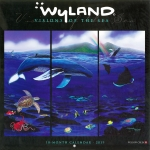 2019 WYLAND VISIONS OF THE SEA WALL CALENDAR