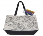 Wyland 'Sea Turtle Migration' Tote with Markers Set
