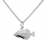 Wyland Humuhumu Triggerfish Necklace