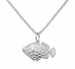 Wyland Clown Triggerfish Necklace
