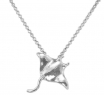 Wyland Manta Ray Necklace - Small
