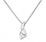 Wyland Whale's Tail Necklace - Small